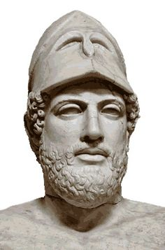 Pericles was a Greek strategos and statesman during the Classical period.  He is recognized for establishing the Athenian Empire, ordering the construction of the monuments of the Acropolis in Athens, and for his funeral oration honoring the soldiers of the Peloponnesian War.