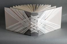 woven spine book from Natalie Stopka