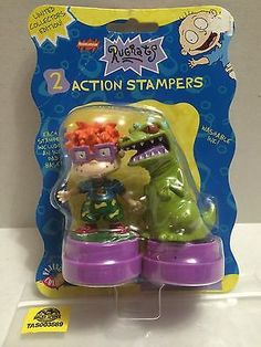 (TAS003589) - Nickelodeon Rugrats - 2 Action Stampers
