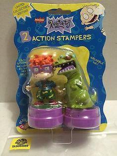 (TAS003589) - Nickelodeon Rugrats - 2 Action Stampers