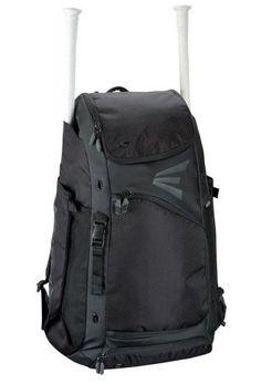 cd27a78f17b7 Easton Baseball Catchers Bat Pack Equipment Bag E610CBP Backpack Black  A159029BK