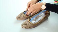 Trik díky kterému zvětšíte těsné boty – vše co potřebujete je obyčejná voda!