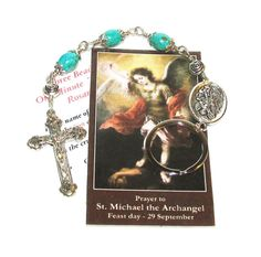 Unbreakable OneMinute Traffic Rosary by foodforthesoul on Etsy, $10.95