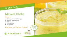 Herbalife Shake Tarifleri / Meyveli Shake