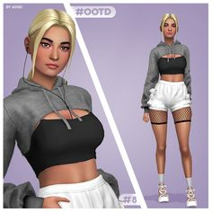 Sims 4 Toddler Clothes, Sims 4 Mods Clothes, Sims 4 Clothing, Sims Four, Sims 4 Mm Cc, Sims 4 Anime, The Sims 4 Cabelos, Pelo Sims, The Sims 4 Packs