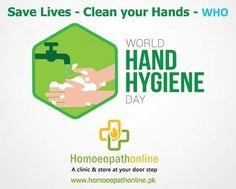 """5 مئی , ہاتھوں کی صفائی کے متعلق عالمی یوم صفائی۔۔۔ زندگیاں بچائیں: اپنے ہاتھ صاف کریں -  ہر سال 5 مئی کو ، """"محفوظ زندگی: اپنے ہاتھ صاف کرو"""" مہم عالمی صحت تنظیم (ڈبلیو ایچ او) کی زیرقیادت ایک اہم عالمی کوشش کے حصے کے طور پر منعقد ہوتی ہے۔ صحت کی دیکھ بھال کی ترتیب میں ہاتھوں کی حفظان صحت کو بہتر بنائیں 5 May SAVE LIVES: Clean Your Hands – Each year on 5 May, the """"SAVE LIVES: Clean Your Hands"""" campaign takes place as part of a major global effort led by the World Health Organization (WHO) to… Hand Hygiene, World Health Organization, Save Life, Clinic, Effort, Medicine, Campaign, Cleaning, Home Cleaning"""