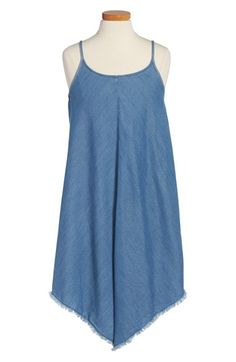 Tucker + Tate Sleeveless Denim Dress (Big Girls)