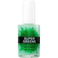 PRO-FX Super Greens Nail Strengthening Complex Base Coat, 1.0 fl oz