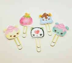 Num Noms Inspired Paper Clips Planner Paper by BerryTreasured