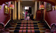The entrance hall to Prestonfield House in Edinburgh.