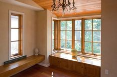 trim, windows blend of white with wood