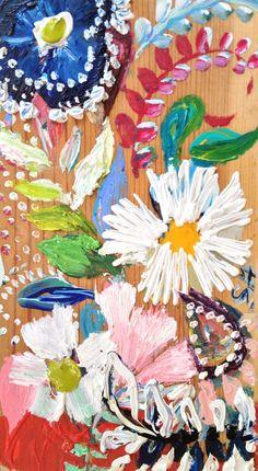 Flowers.Paintwork.Wallpaper