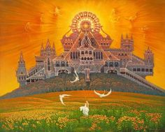 """Храм Солнца"". Александр Угланов. ""El Templo del Sol"". Aleksandr Uglanov."