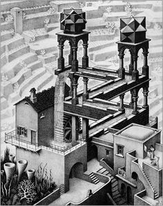 M.C. Escher was a Dutch graphic artist made famous by his mind bending illustrations in the first half of the 20th century. His works play with notions of perspective and reality and a brilliant...