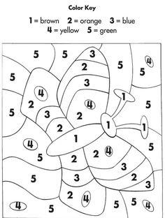 (≧◡≦) Colorear por numeros
