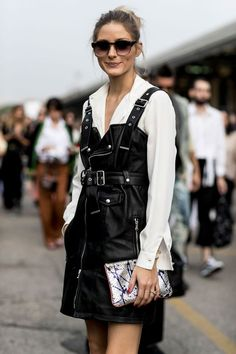 The chignon will always be The Evergreen for hair styles, especially when you just want to go for an easy, modern and super cool look. In this case (Olivia at the Diesel SS17 runway show) I opted f...