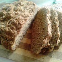 Špaldový chlieb bez kvasníc