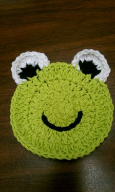 My frog coaster :-)