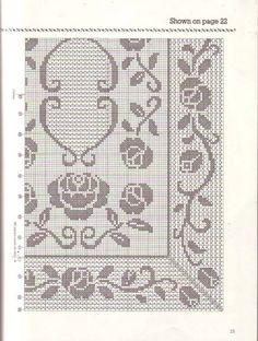 Кира схема вязания крючком: скатерти