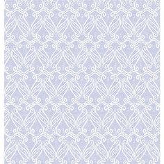 Página para Scrapbook Dupla Face Litoarte 30,5 x 30,5 cm - Modelo SD-382 Gaiola Branca com Flores e Renda - CasaDaArte