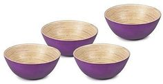 Core Bamboo Spun Bamboo 4-pc. Bowl Set: Get it for $26.39 (was $65.99) #coupons #discounts