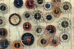 love clocks, just not when they are going off in the morning