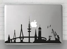 Skyline Hamburg   Laptop Sticker                                                                                                                                                                                 Mehr