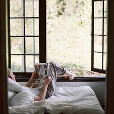 Sunday Morning. Via Kinfolk Magazine.