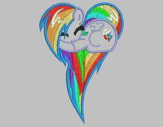 Rainbow dash https://www.etsy.com/shop/DuchessEmbroidery?ref=si_shop