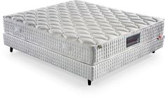 CONFIDENCE DELUXE Mattress A deep and peaceful sleep for your guests with H:18 cm Bevel Coil System with its superior springback effect and Confidence Deluxe with its flexible side barriers!