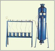 Cement Mortar Permeability Apparatus (Six Cell Model) : EI10 http://www.lab360.co.in/cement-test.htm
