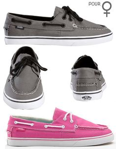 vans shoes - I'd wear these, in different colors.