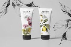 """Se dette @Behance-projekt: """"Anthos Botanicals Hand Cream"""" https://www.behance.net/gallery/32816413/Anthos-Botanicals-Hand-Cream"""