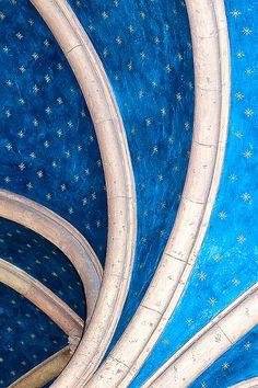 Blue vaulting. Biltmore Hotel, Coral Gables