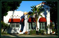 Spanish revival house with seven canales
