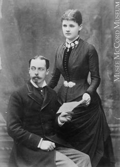 Alice's parents. : Leopold and Duchess of Albany