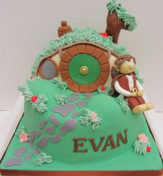 The Lord of the Rings Cake - The Hobbit (The Cakehole)