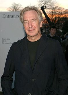 Alan Rickman - Private viewing at The Serpentine Gallery. London. Apr 6, 2004