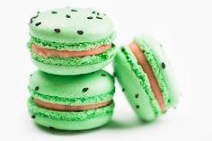 Watermelon Macarons - DeToni Patisserie and Bakery Macarons