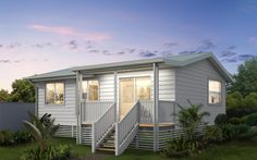 Get inspired with the Coastal Granny Flats gallery. Filled with a variety of floor plans and colour selections you are sure to fall in love with these small homes.