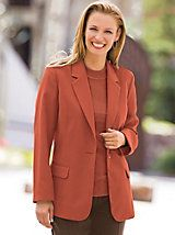 """I love these blazers. I own several in different colors and I wear them all the time."" ~ Customer on our Elisabeth Williams® Fully Lined Blazer from Blair"