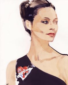 Congratulations to the beautiful Thandie Newton for her Best Supporting Actress Emmy nomination for Westworld. I don't watch movies on planes very often, but on a flight to L.A. in April I watched 10 episodes of Westworld, back to back. I was sorry to land. This portrait was made earlier this year in the Royal Suite @claridgeshotel Thandie is wearing S/S @elsaschiaparelli couture. An unforgettable sitting @kaymontano @thandieandkay