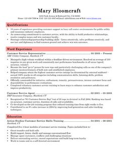How to write customer service resume: The Definitive Guide. Skills, objectives and summary samples, and 15 free ready-to-use templates in Microsoft Word.