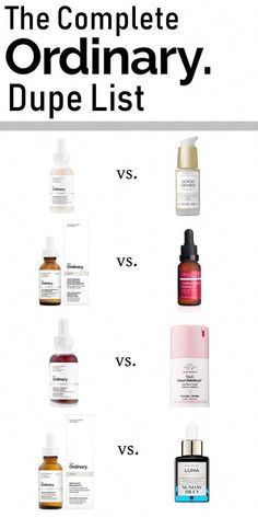 Great Skin Care Tips Can Change Your Life A complete dupe list for Deciem The Ordinary. Save on some of your favourite luxury skincare!A complete dupe list for Deciem The Ordinary. Save on some of your favourite luxury skincare! Beauty Care, Beauty Skin, Beauty Hacks, Hair And Beauty, Beauty Ideas, Face Beauty, K Beauty, Glam Glow, Skincare Dupes