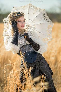Parasol pose -- stylein'