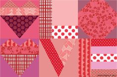 It's Free Pattern Friday! Visit the Craftsy blog for a collection of our favorite FREE Valentine's Day patterns, including this lovely Valentine's Love Quilt!
