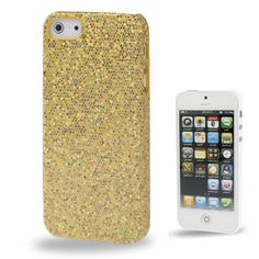 icoverlover - iPhone Cases - Yellow Sequins iPhone 5 Case, $19.99 (http://www.icoverlover.com/yellow-sequins-iphone-5-case/)
