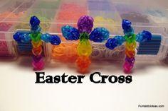 Rainbow Loom Easter Cross Charm  ♥Subscribe YouTube Channel:  https://www.youtube.com/user/ElegantFashion360  ♥ Sing up for Newsletter: http://elegantfashion360.com