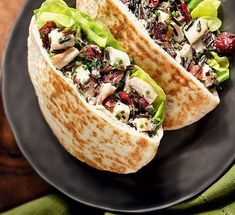 Chicken and Wild Rice Salad Pitas Cold lunch idea Healthy Lunches For Work, Work Meals, Snacks For Work, Eat Healthy, Work Lunches, Lunches For Working Men, Healthy Snacks, School Lunches, Lunch To Go