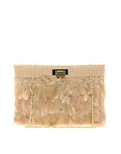 Enlarge ASOS Feather Clutch